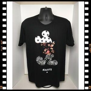 NWT~T-Shirt~Tee~NEFF~Disney~Mickey~Mouse~Black~